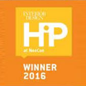 ISIDORO and ISIDORA were winners of Interior Design's HiP at NeoCon 2016 Awards in the Outdoor category.