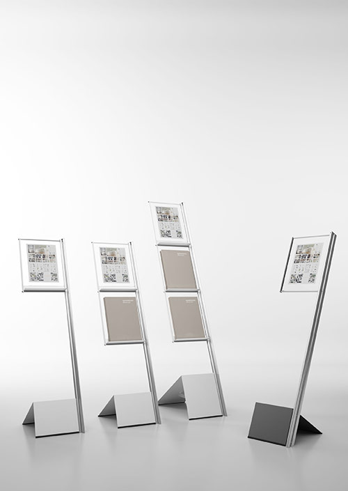 IFLAG Magazine, Literature & Graphic Displays