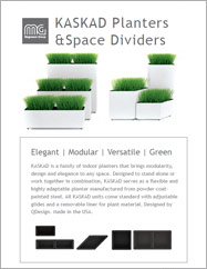 Kaskad Planters & Space Dividers