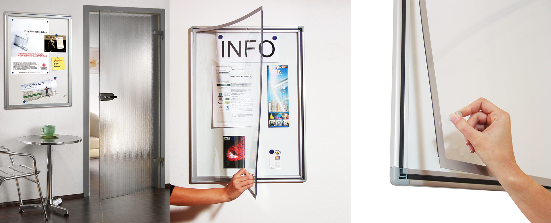 MAGNEDOOR Poster Display