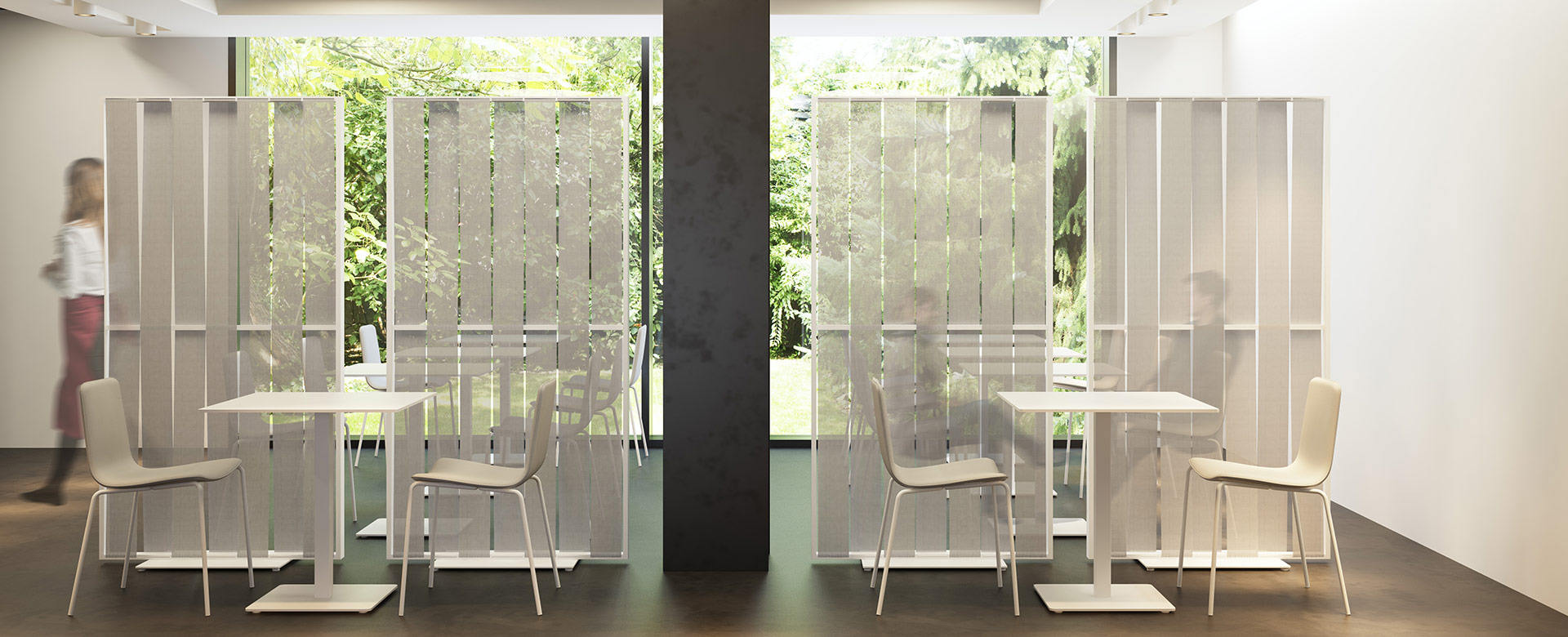 Malva Movable Screens
