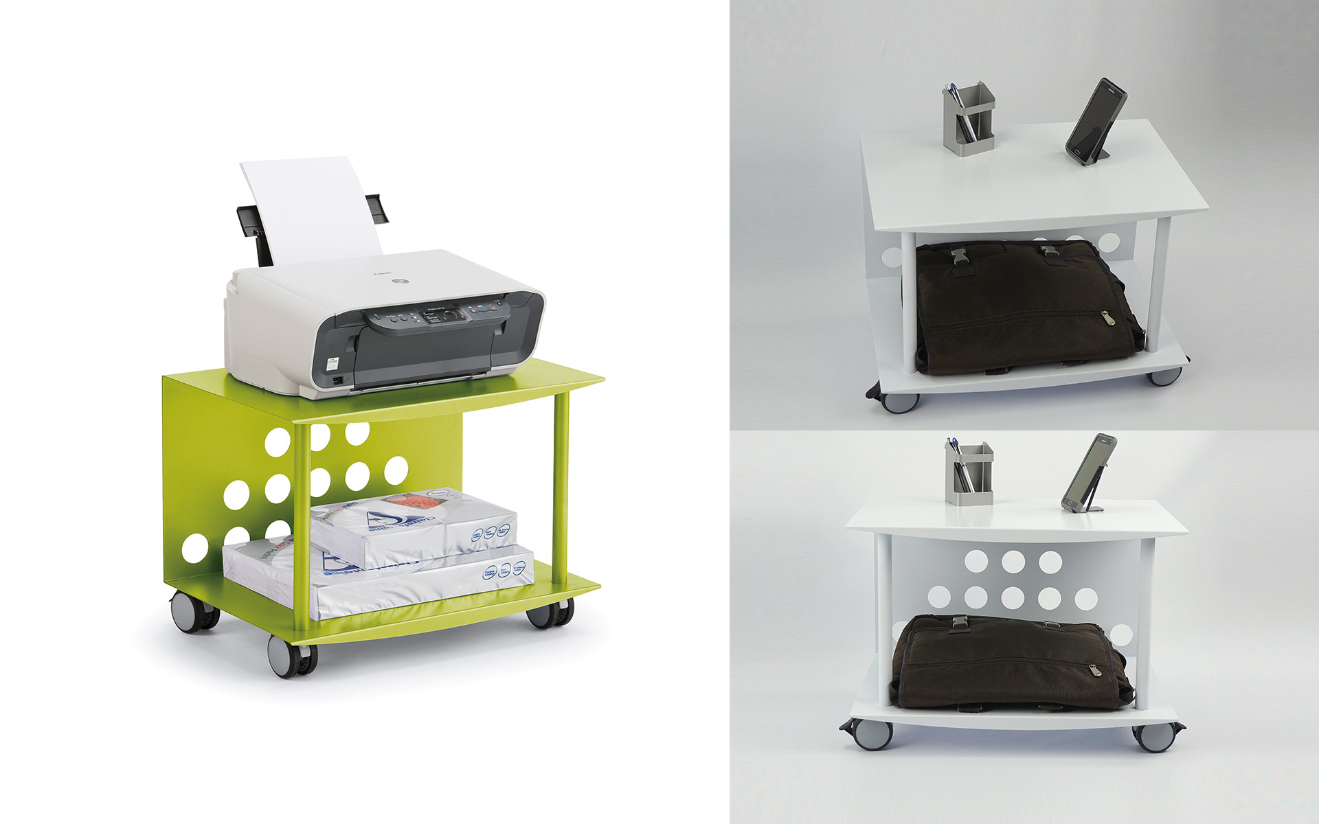 Roller Workspace & Collaborative Carts
