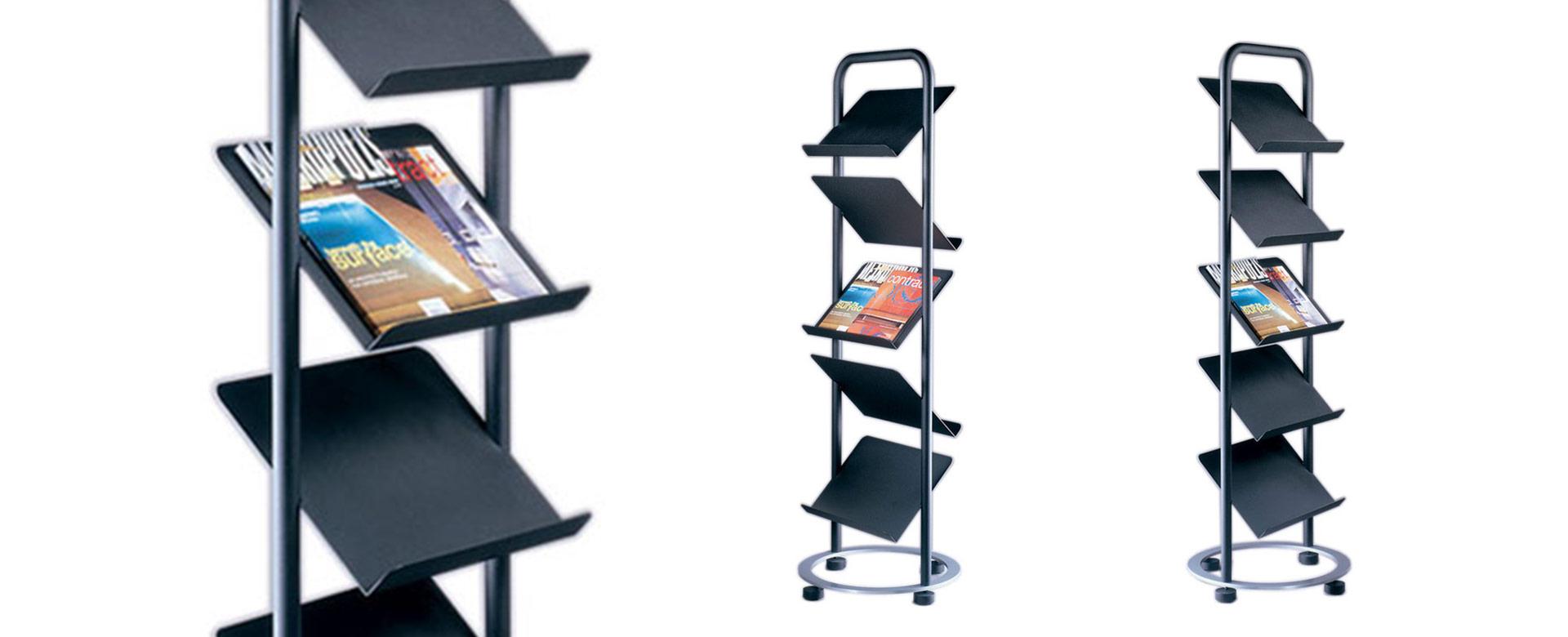 Exhibition Stand Revit : Spring magazine racks